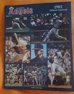 1983-CALIFORNIA-ANGELS-YEARBOOK-MAGAZINE-ANAHEIM-LOS-ANGELES-CAREW-JOHN-BOONE
