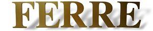 Targa-insegna-a-lettere-singole-gianfranco-ferre-039-ferre-advertising