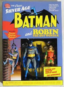 2003 CLASSIC SILVER AGE BATMAN /& ROBIN DELUXE ACTION FIGURE SET N.I.B ESAR5886
