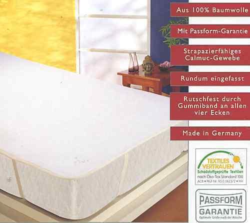 Molton  Matratzenauflage  100 % Baumw. 180 200 cm