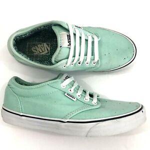 Vans Womens Sneakers Shoes Sz 8 Mint
