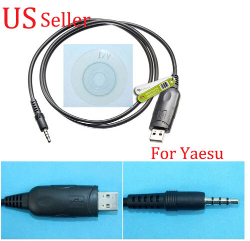 USB Programming Program Cable For Yaesu//Vertex Radio VX 10 VX14 VX17 VX110 VX130