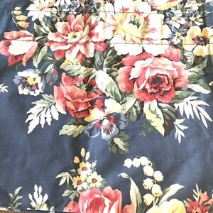 Ralph-Lauren-Valance-Kimberly-Floral-Blue-French-Country-Roses-Chic-82-x-17