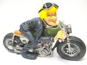 Motociclista-Motociclista-Funny-Profesion-Figura-Profesion-16CM-Nuevo