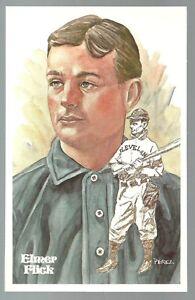 92-ELMER-FLICK-Perez-Steele-Hall-of-Fame-Postcard