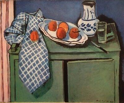 Henri Matisse,Still Life With Green Buffet,Offs.Lithograph 1939,Platesigned