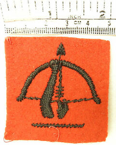 Original-Military-WW2-Anti-Aircraft-Command-Formation-Cloth-Badge-3554
