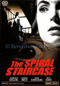 The Spiral Staircase 1945 Dorothy Mcguire George Brent Dvd