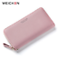 WEICHEN-Wristband-Women-Long-Clutch-Wallet-Large-Capacity-Wallets-Female-Purse-L thumbnail 1