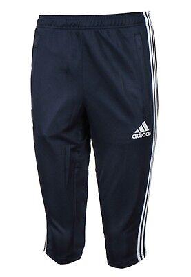 Adidas Men Tango Cage 3//4 Shorts Running Pants Navy Football Soccer Pant CD2297