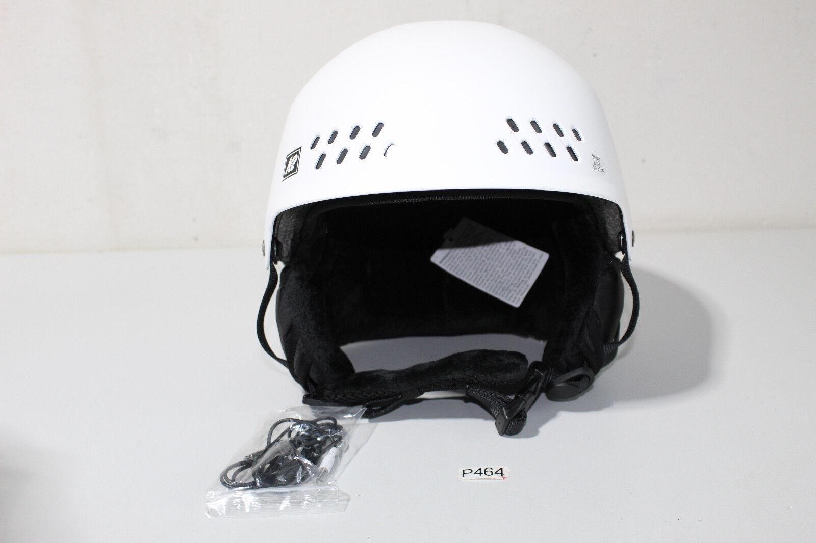 K2 helmets Phase Pro, Snowboard, White white L-XL   59-62 CM (P464)