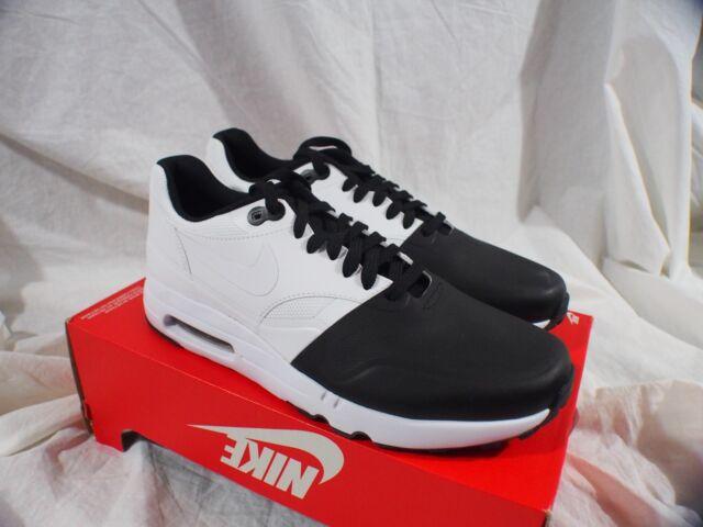 official photos 280c4 8e3bb Nike Air Max 1 One Ultra 2.0 SE 875845-001 Yin Yang Oreo Panda Black Size 9
