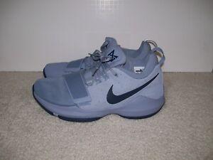 44d715b19ee6 SZ11 Nike PG 1 878627-044 Glacier Grey Midnight Navy Georgetown PS4 ...