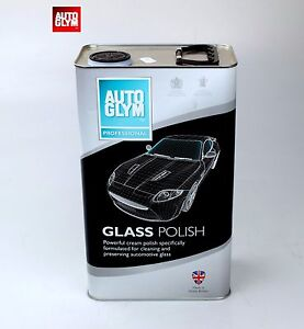 image is loading autoglym glass polish glass cleaner 5 litre powerful