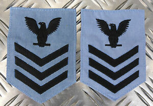 Details about Genuine US Naval/Military Vanguard 1st Class Sergeant Eagle  Patch - NEW