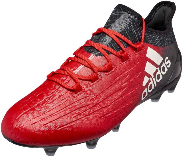 Adidas Hombre Zapatos Botas De Fútbol X 16.1 pista dura Tacos Fútbol Roja  bb5618 ee340317ab2a7