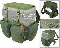 Fishing Seat Box Rucksack Converter Roddarch Roving Fishing Stalking Back Pack