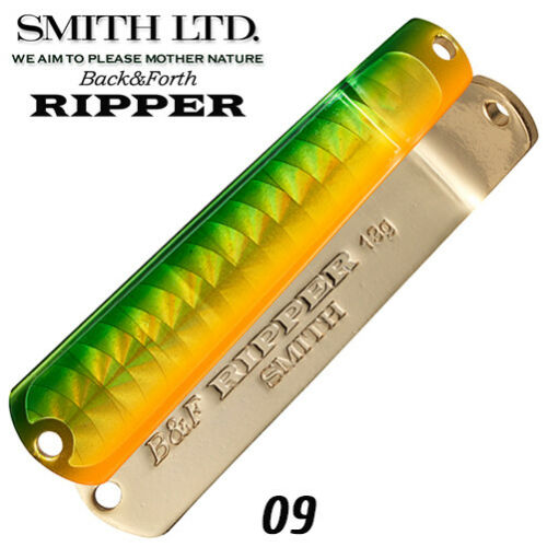 Smith Back/&Forth Ripper 13 g Trout Spoon Assorted Colors