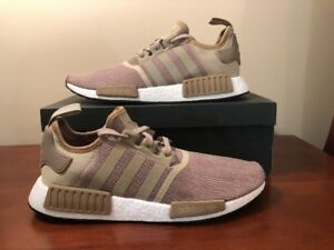 size 40 d8a0c bb4cc Details about Adidas Men's Originals NMD R1 NEW AUTHENTIC Brown/Raw Gold  B79760 Size 12