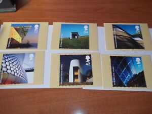 Modern-Architecture-20-June-2006-PHQ-288-set-Royal-Mail-Stamp-Card-Series