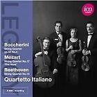 Quartetto Italiano plays Boccherini, Mozart & Beethoven (2012)
