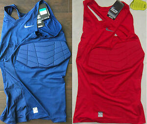 New-Mens-Nike-Pro-Combat-Hyperstrong-Vis-Compression-Basketball-Tank-Tall-Sizes