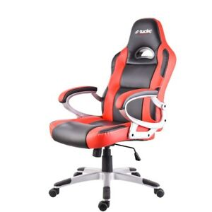 Simoni Racing Silla Sillón Regulable Sportiva cuero artificial de Gaming Oficina