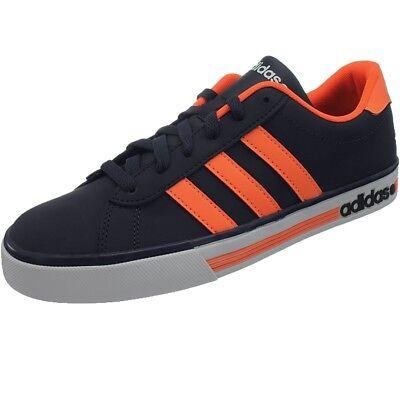 Adidas NEO Daily Team Herren Freizeitschuhe dunkelblauorange Sneakers NEU | eBay