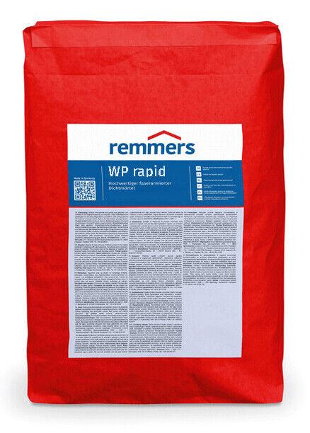 Remmers WP rapid   Schlämmspachtel schnell, 25kg - Dichtungsmörtel