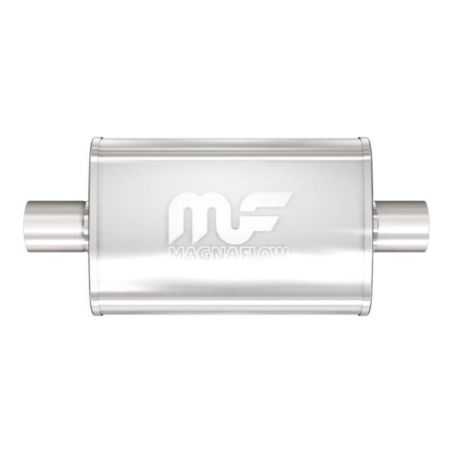 "Magnaflow 11386 High-Flow Performance Muffler 4x9x14 Oval 2.5/"" Dual//Dual"