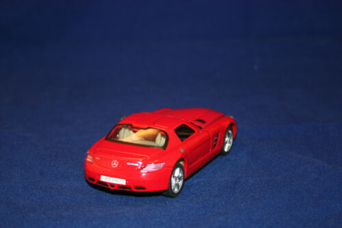 Maqueta de coche//mercedes-Benz SLS AMG//rojo//Top mark//la cast Collection//embalaje original