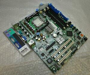 Genuine-Dell-0XM091-XM091-Poweredge-Socket-LGA-775-Motherboard-with-Backplate
