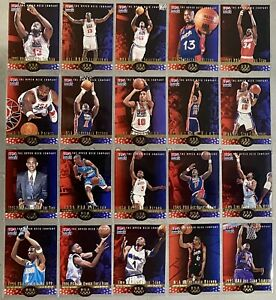 1996-97-Upper-Deck-USA-Career-Highlights-Die-Cut-Lot-Of-44-Different-Shaq-Pippen