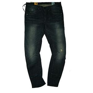 G-Star-Arc-3D-Tapered-Wmn-Ladies-Stretch-Boyfriend-Jeans-Pants-W26-L34-Blue-GS