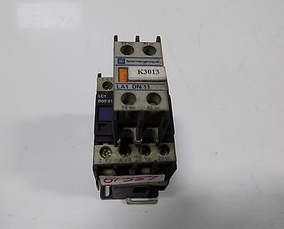 TELEMECANIQUE MAGNETIC CONTACTOR LC1 D32 W//AUXILIARY CONTACT LA1 DN 11
