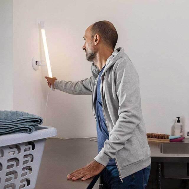 Ledvance TubeKIT LED Unterbauleuchte 8.9W 60cm 3000K m Netzstecker und Schalter