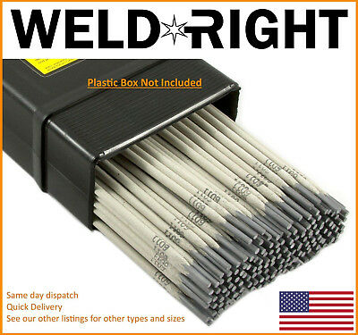 1.6mm x 10-100 Qtys Weld Right ER316L Stainless Steel Arc Welding Electrodes Rods 1//16s