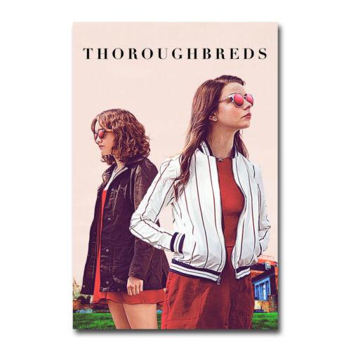 Thoroughbreds Hot Movie Art Silk Canvas Poster 12x18 24x36 inch