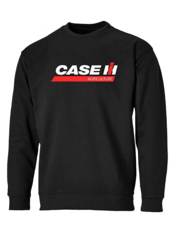 CASE AGRICULTURE IH UNISEX SWEATSHIRT//JUMPER S-XXL TRACTOR FARMING AGRICULTURE