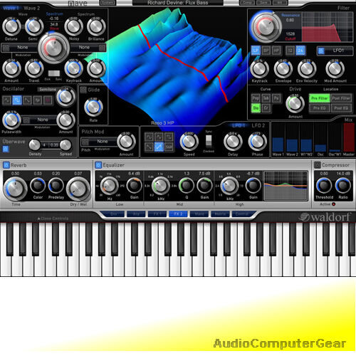 Waldorf NAVE Virtual SyntheGrößer Software Synth Plug-in NEW MAKE OFFER