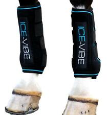 """TOUGH 1 HORSE LEG ICE BOOT 16/"""" TALL NAVY FOR COLD THEREPY W// 4 QUICK GRIP U--9-0"""