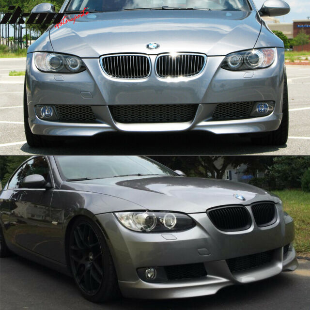 Details about  /Fits 07-10 BMW E92 3-Series M-TECH Msport Front Lip # A52 Painted Space Gray