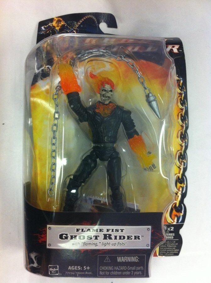 Ghost Rider  Cavaliere Fantasma  Fiamma Pugno Statuetta Hasbro 2007