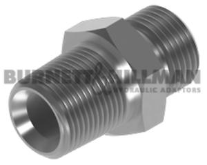 "Burnett & Hillman Hydraulic NPTF 2"" Male x BSP 1-1/2"" Male Adaptor | 00644"