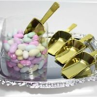Firefly Imports Small Plastic Candy Scoops, Small/3.25-inch, Gold, 12-pack, New, on sale