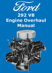 ford 292 v8 engine overhaul manual ebay rh ebay com Banshee Engine Overhaul Banshee Engine Overhaul