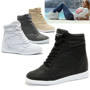 Womens Wedge Gym Shoes