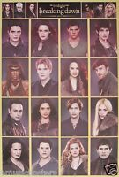 Twilight Saga cast Collage Of Breaking Dawn Part 2 Movie Poster From Asia