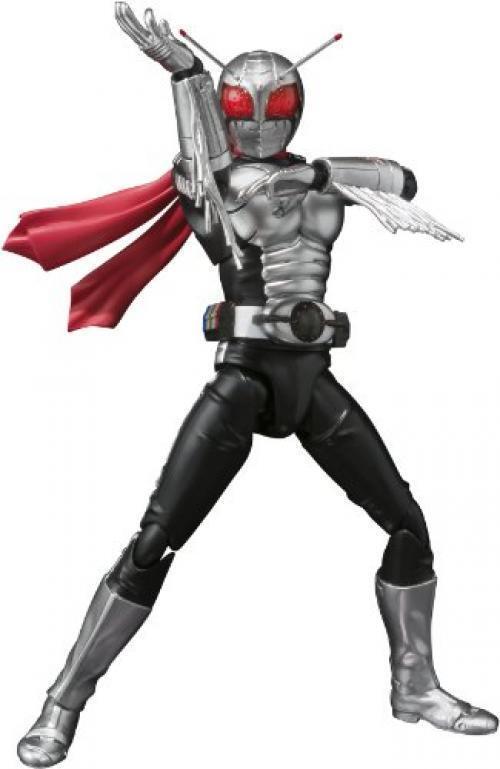 Nuevo S. H. FIGUARTS Masked Kamen Rider Súper 1 Figura de Acción Tamashii