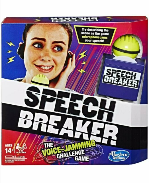 "Hasbro Gaming ""Speech Breaker"" Party Game"